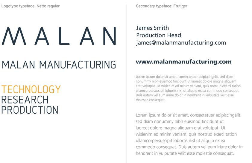 malan-typography